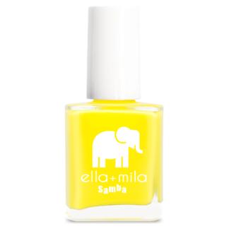 żółty lakier do paznokci